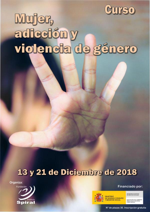 Curso: Mujer adicción y violencia de género